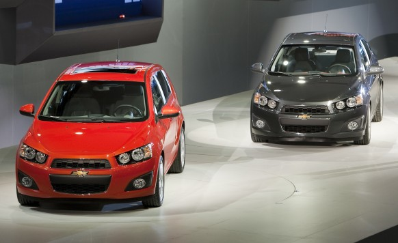 GM has big hopes for the small Chevy Sonic Chevy Sonic
